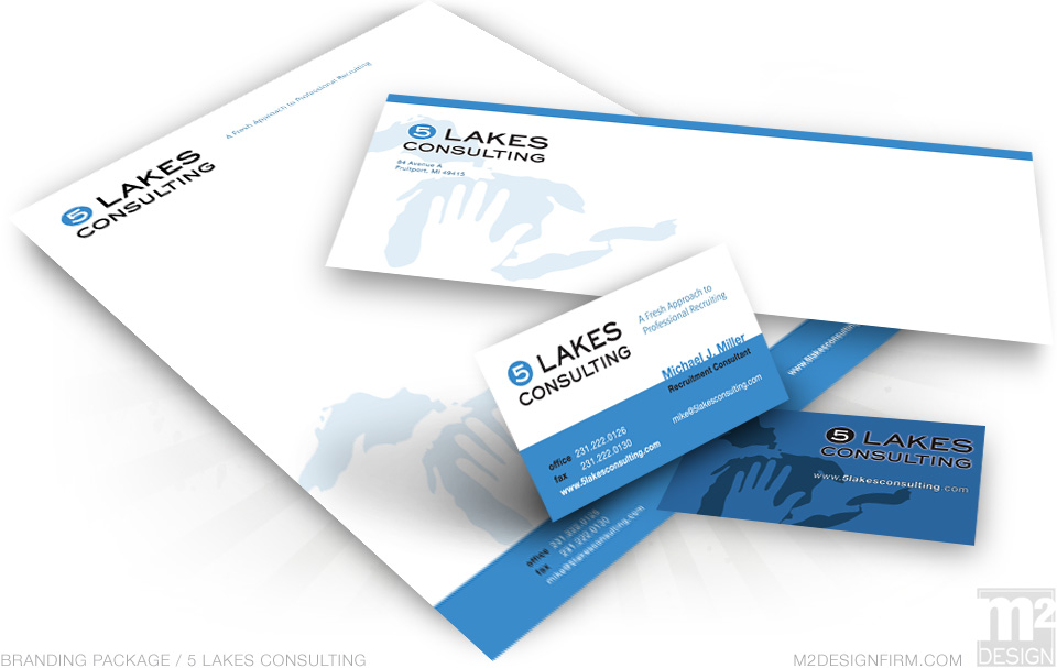 5 Lakes Consulting Branding