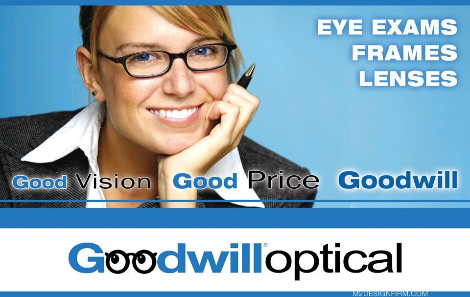 Goodwill Optical Sign