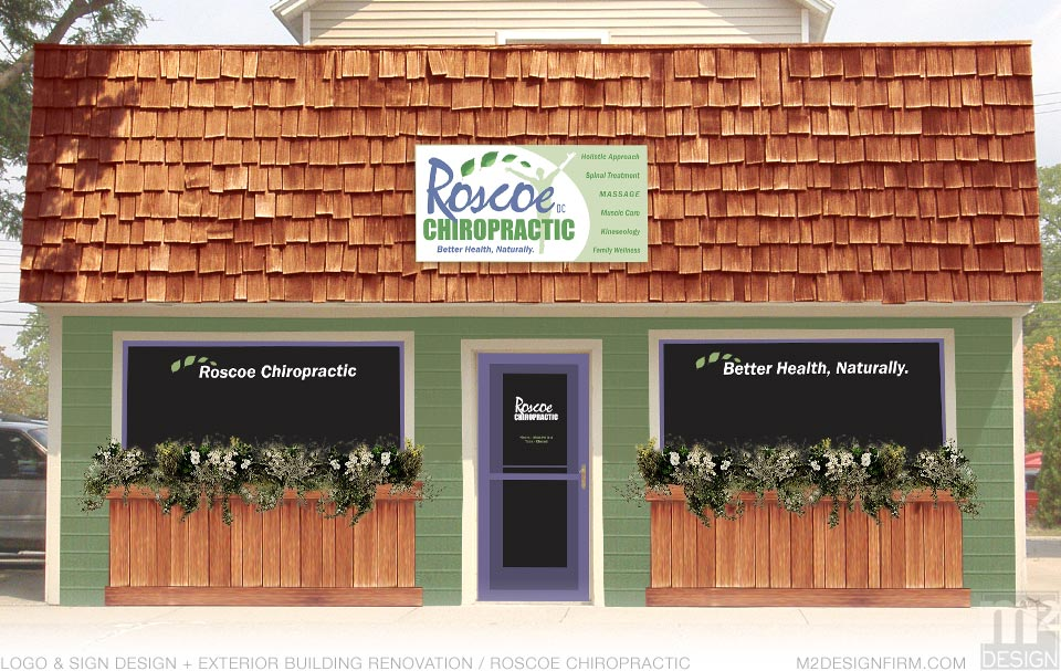 Roscoe Chiropractic Sign